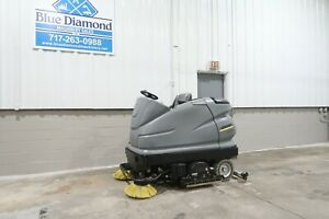 Karcher B250r R120 48 Ride On Floor Scrubber Electric Only 47 Hours Advance