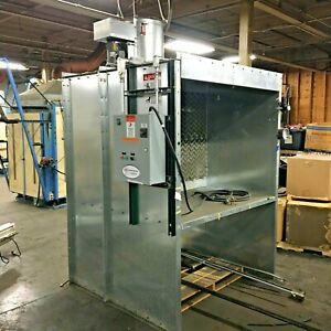 Global Finishing Solutions Ifpx 5 Paint Spray Booth Working Area 5 x3 x4