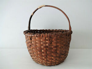 Primitive Egg Gathering Basket