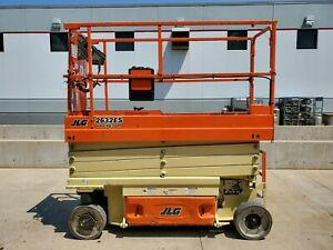 2016 Jlg 2632es Electric Scissor Lift 26 Working Height Deck Extension Genie