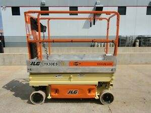 2011 Jlg 1930es Electric Scissor Lift 19 Platform Height Deck Extension Genie
