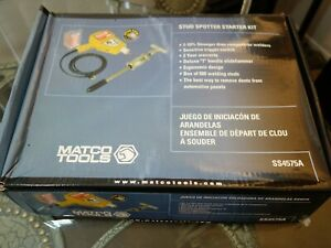 Matco Starter Plus Stud Welder Ss4575a Auto Body Tool Set Kit