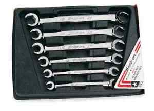 Snap On Rxfms606b 6pc Metric Double End Flair Nut Wrench Set Brand New Sealed