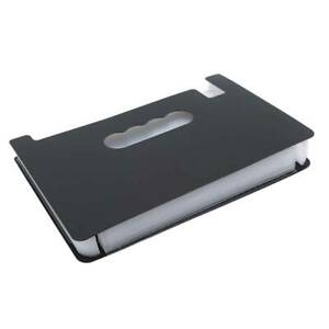 Durable Document Holder Papers Bag High Capacity Multifunctional File Folder O3