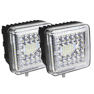 2x4inch 1768w Cree Led Work Light Bar Led Pods Mount Combo Driving Lamp For Jeep