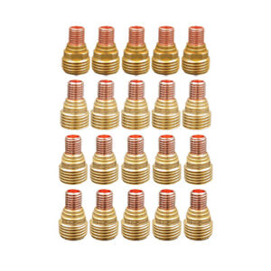 20 pk Assorted Tig Collet Body Gas Lens 45v42 45v45 040 1 8 For Wp 9 20 25