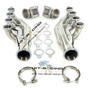 Up forward Headers elbow Adapter T3 T4 To 3 V band For Ls1 Ls6 Lsx Gm V8 4 8l
