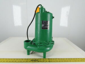 Myers Mw150 43 Submersible Sewage Pump 1 1 2hp 460v 3 Ph 2 npt Discharge