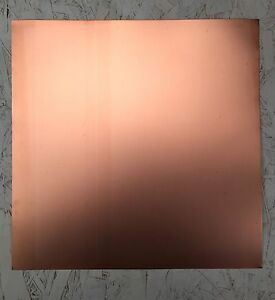 12 x12 Double sided Copper Clad Pcb Circuit Board Mil spec 005 5 Oz