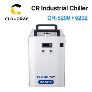 Cr 5200 5202 Cr Industrial Chiller For Laser Tube To Cooling 1 Year Warranty