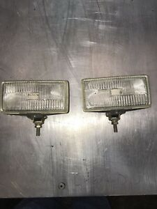 Bosch Fog Driving Lights Removed From Prevost Bus Motor Home
