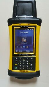 Trimble Nomad 1050 Data Collector Survey Pro And Survce Not Wifi Installed