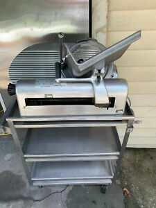 Hobart 1612 Commercial Deli Meat Slicer 3 Tier Stainless Steel Catering Cart