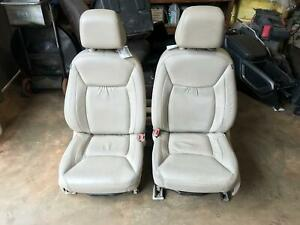11 12 13 14 Chrysler 300 Front Seat Set Left Right Oem Beige Electric Set