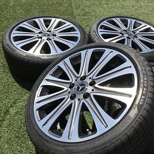 18 Mercedes Cla250 Factory Original Wheels Rims New Tires Tpms Set 4 Oem