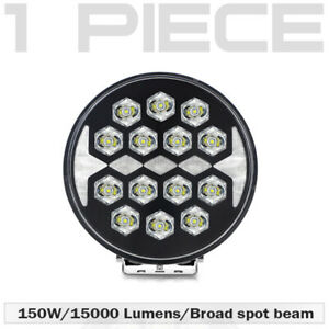 150w 9 inch Led Work Lights Off Road Backup Driving For Jeep Atv Truck Round