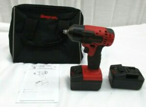 Snap On Ct8810b 3 8 18v Cordless Impact Wrench W 2 4ah Batteries