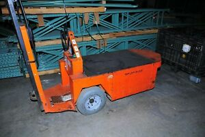Taylor Dunn Sc1 75 Electric Stock Chaser Warehouse Cart 24 V Clean Runs Great