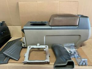 2006 Ford F150 King Ranch Bucket Seat Center Console Floor Storage Assembly
