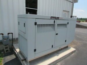 Stateline Sg 60 Stationary Generator Natural Gas Fuel