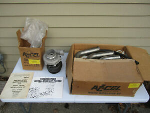 Accel Turbosonic For Small Block Chevy Gm Vintage Turbocharger Nos Rat Rod