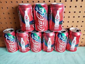 12 Coca-Cola Bejing 2008 Olympic Cans