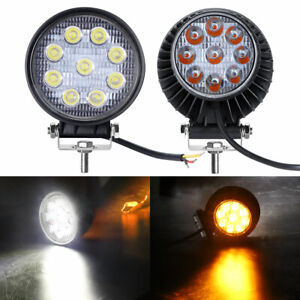 Double Sized 4inch 45w Led Work Light Bar Spot Pods Offroad Fog Warning Lamp