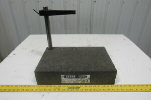 Granite Surface Inspection Plate 18 X 12 X 4 W 1 1 4 X 12 Rod