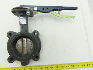Nibco Ld 3010 3 250psi Lug Style Butterfly Valve Ductile Iron Epdm Seat
