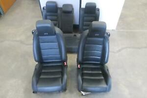 2012 2014 Volkswagen Golf Front Rear Seat Set Bucket Leather Manual Oem 2013