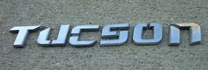 Hyundai Tucson Emblem Letters Badge Decal Logo Symbol Oem Factory Genuine Stock