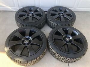 Range Rover Oem Factory 22 Wheels Rims Tires Michelin Black Sport Autobiography