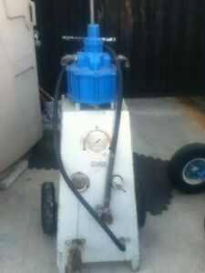 Used Pdqc10 000 Stand up Cabinet Hydrostatic Test Pump Sole As Is