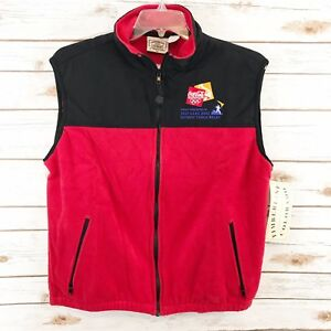 Timberline Colorado Authentic Outerwear Salt Lake 2002 Olympic Coca-Cola Vest
