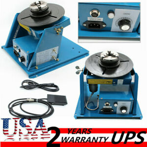 Welding Machine Rotary Welding Positioner Turntable Table High Positioning