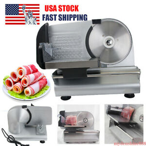 Commercial 7 5 Blade Electric Meat Slicer Cheese Deli Food Cutter Kitchen Home