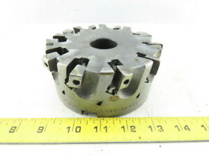 Smc 5 010 10436 5 Indexable Face Mill Cutter 1 1 2 Arbor 10 Flute