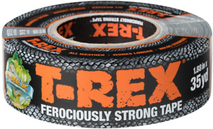 T rex Ferociously Strong Tape Duct Tape With Uv Resistant Waterproof Backing