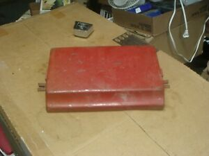Vintage Tractor Battery Cover Ih International Farmall Parts Lot 1 Mf