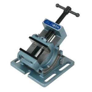 Wilton 3 Inch Jaw Steel Cradle Style Work Bench Angle Drill Press Vise open Box
