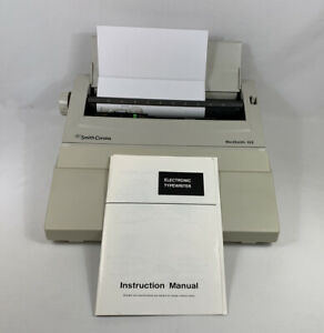 Smith Corona Wordsmith 100 Model Ka11 Electric Typewriter Tested Works Fast Ship