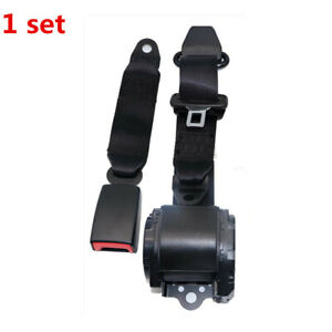 Universal 3 Point Retractable Seat Belt For Jeep Cj Yj Wrangler 1982 1995