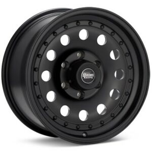 16 Ar62 16x8 Chevy Gmc Sierra 1500 K1500 Black 6lug Rims 6x5 5 25mm 1988 1998