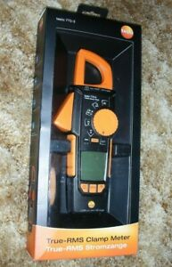 Testo 770 3 Digital Clamp Meter Multimeter With Bluetooth 029547013997