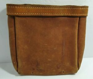 Vintage Bashlin 26 l Leather Lineman Climbing Belt Bag Pouch
