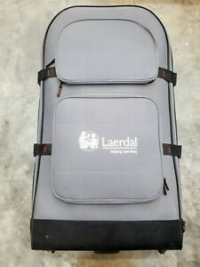 Used Laerdal Training Manikin Large Rolling Suitcase Carrier Trolly Case Medical