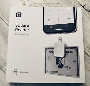 Square Reader For Magstripe Model A sku 0523 01 With Lightning Connector