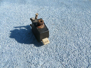 1940s Vintage Gm Car Truck Under dash Accessory Part Heater Toggle Switch