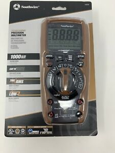 Southwire Technicianpro Cat Iv 600v True Rms Precision Multi meter 14070t New