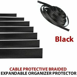 Extendable Cable Sleeve Pipe Cover Sleeve Cord Organize For Wrap Protect Cables